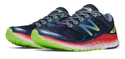 New Balance Male Men's Fresh Foam 1080V6 Comfort Adult Grey With Red & Green (Comfortable Green)