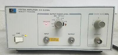 Hp 11975a Amplifier 2.0-8.0ghz