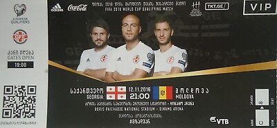 Georgien 12 (VIP TICKET 12.11.2016 Georgien Georgia - Moldawien Moldova)