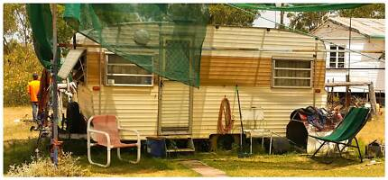 Vintage Retro York Caravan