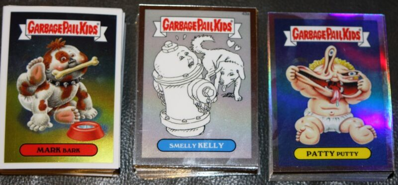 GARBAGE PAIL KIDS CHROME 2 BASE PENCIL REFRACTOR YOU PICK COMPLETE #42-71A/B