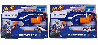 ALL NEW Nerf Elite Disruptor Disruptors Lot of 2 / Great Gif