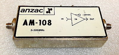 Anzac Am-108 5-300 Mhz Sma F-f-f Rf Amplifier