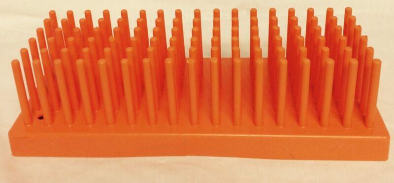 ENDICOTT-SEYMOUR Plastic 80-Place 10-13mm Test Tube Rack Holder Support No. 207o