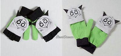 Frankenweenie Dog Costume (Disney Frankenweenie Sparky Dog Knit Fingerless Cosplay Costume Gloves Mittens)