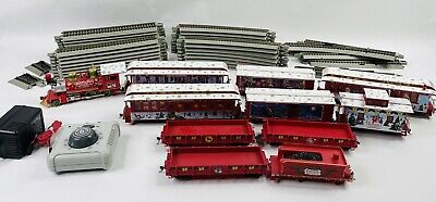 HAWTHORNE VILLAGE RUDOLPH CHRISTMAS TOWN EXPRESS TRAIN SET -TESTED WORKS