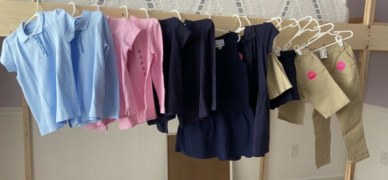 5T Girls Uniform Lot