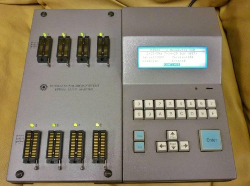 INTERNATIONAL MICROSYSTEMS MP 4000 EPROM PROGRAMMER MP4000