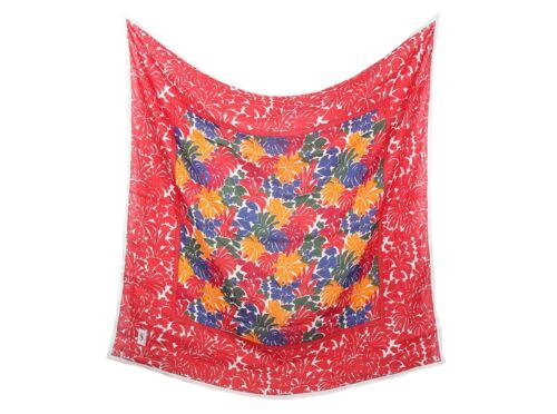 YSL Multi-Color Linen Shawl - Big and colorful!