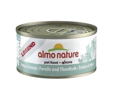 Almo Nature Forelle und Thunfisch | 24x 70g Katzennassfutter