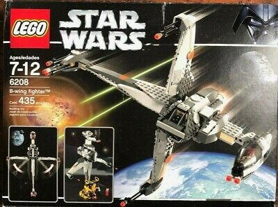 Star Wars LEGO Set 6208: B-wing Fighter (Complete Set) [Used]