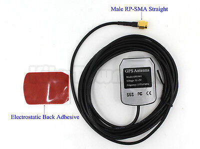 US Enhanced 3M GPS antenna navigation positioning Aerial Male RP-SMA
