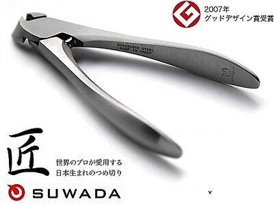 """Japanese SUWADA High Class Nail Nipper Clipper Cutter """"Classic Large Size"""""""