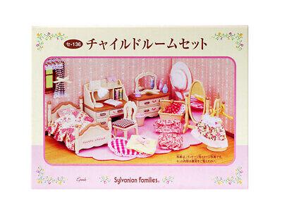 Calico Critters Girls Bedroom Set - Sylvanian Families Calico Critters Furniture Girl's Bedroom Set & Accessories