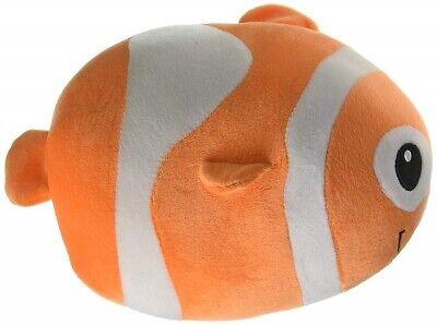 Fiesta Toys Lil Huggy Cora Clown Fish 8'' Inch Pet Pillow My Beanbag (Clown Fish Bean Bag)