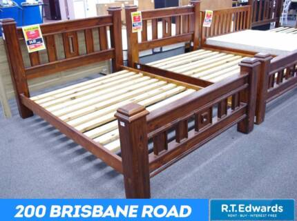 Jumbuck SOLID TIMBER Queen Beds