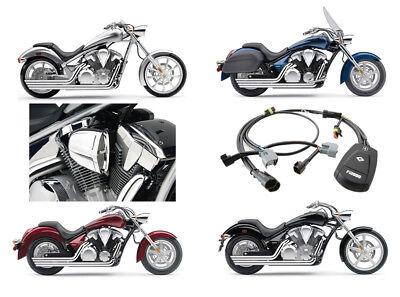 Cobra Speedster Slashdown Exhaust / PowrFlo Intake / Fi2000R Kit - Honda VT1300C