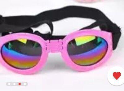 New Fashion For medium PET DOG Goggles Doggles SUNGLASSES UV Eye Protection (Sunglasses For Eye Protection)