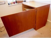Swiss teak sideboard cabinet - Vintage - TV stand