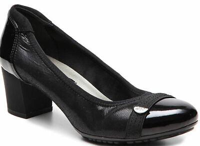 AK ANNE KLEIN SPORT GERWYN PUMP size 6M BLACK - ANNE KLEIN SPORT BLACK HEEL 6M