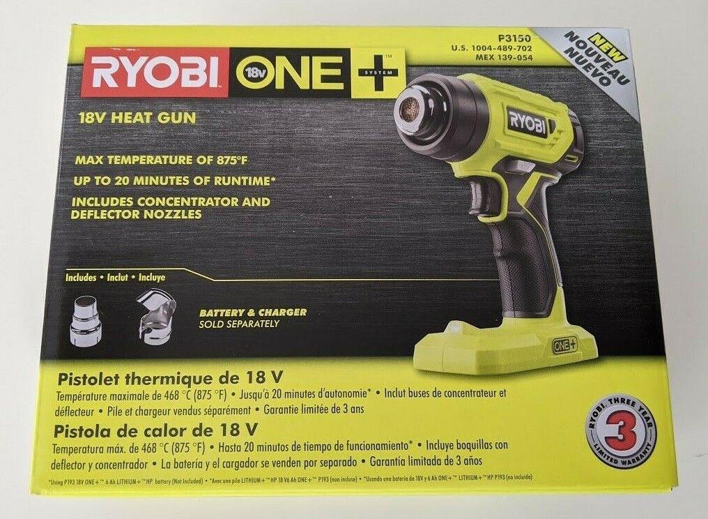 Ryobi p3150 18v heat gun umbra finch sensor pump