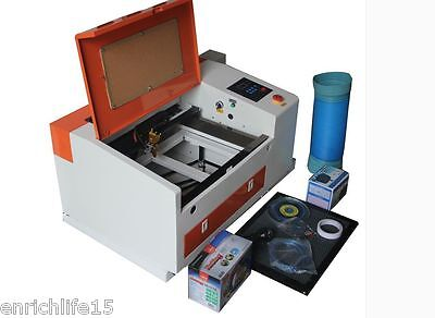 Upgraded Version Co2 60w 110220v Laser Engraving Cutting Machine With Usb Port
