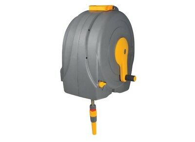 Hozelock 2496 - Wall Mounted Fast Reel with 40m Hose & Guide