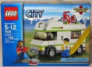 NEW LEGO CITY CAMPER SET 7639 - 165 PIECES - FACTORY SEALED