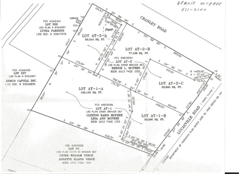 1 approved buildins lot - waterstone subdivision