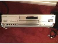 Panasonic video & DVD recorder player
