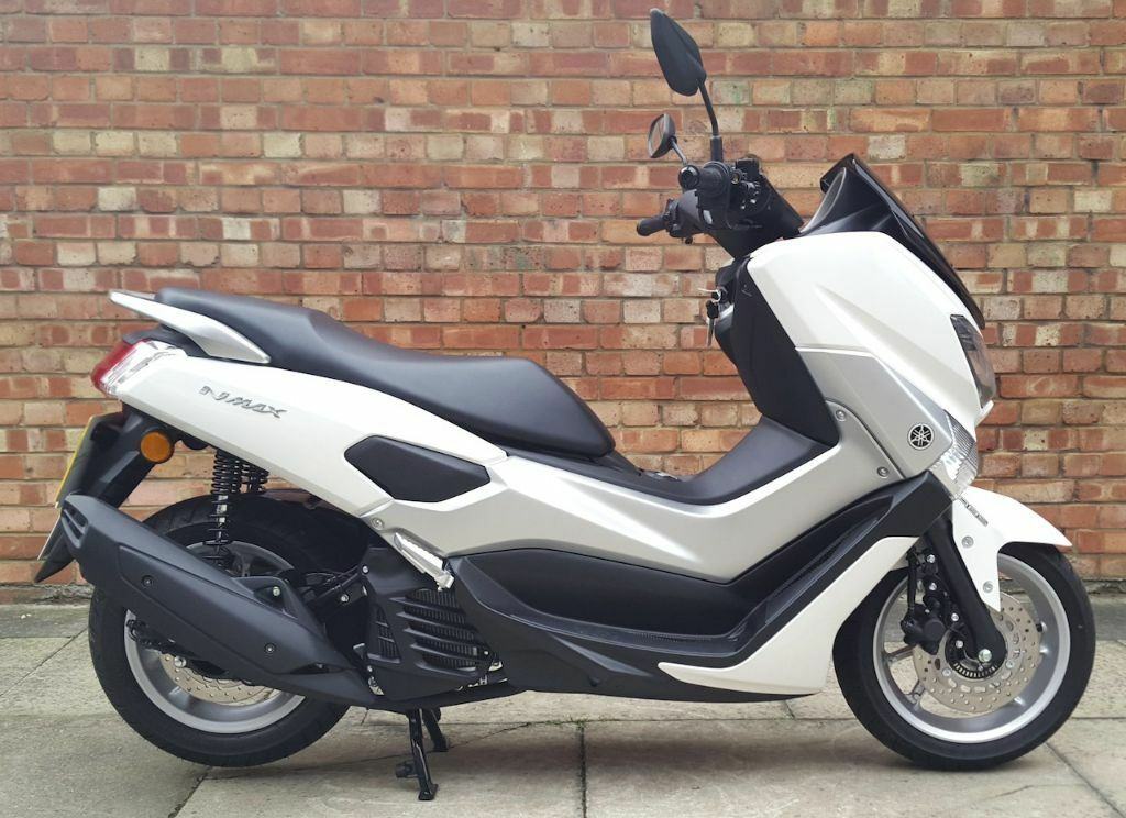 yamaha nmax 125 as new condition with 1 owner in tower. Black Bedroom Furniture Sets. Home Design Ideas