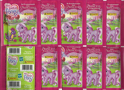 2006 PANINI My Little Pony 10 Sealed Packets