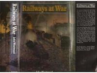 RAILWAYS AT WAR - BOOK