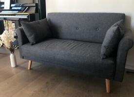 Argos Home Evie 2 Seater Fabric Sofa