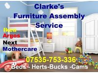 Clarke's Furniture Assembly Service We Cover All Makes to include IKEA -ARGOS -MADE -VERY