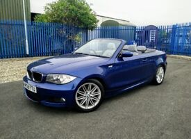 Bmw 120D Convertible M Sport (58) 2 Owners Full Service History