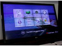 "LG 42LV355T 42"" Full HD 1080p LED TV HDMI USB FREEVIEW SCART LAN TELEVISION"