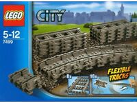 Lego 7499 City flexible train tracks