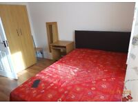 One nice double room is available in a two bed room flat.