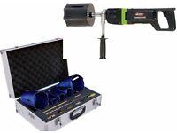 """Eibenstock Diamond Core Drill EHD2000 6"""" & Duro 5pc Core Cutter Kit"""