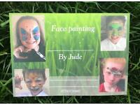 Face painting by Jude
