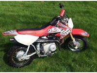 Honda CRF 50 mini bike pit bike pw 50 lt 50