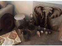 Moroccan decor, lighting, accessories and soft furnishings
