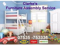 Clarke's Flat Pack Furniture Assembly Service for Cambridgeshire