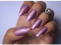 Nail Technician/ acrylic nails/ nail extensions/ nail designs/ gel nails