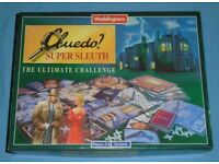 'Cluedo Supersleuth' Board Game
