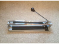 330mm Manual Tile Cutter, as new B&Q, in box.