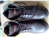 Steel toe capped Trojan work boots