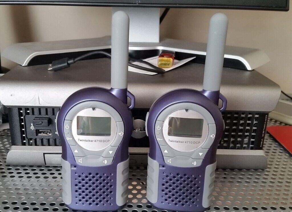 Nya Topcom Twintalker 4710 8 Channel Walkie Talkies | in Sunniside MF-08