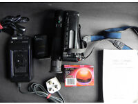 Sony Handycam Video8 CCD-TR440E Includes Spare Battery, x2 Tapes and Carrying Case